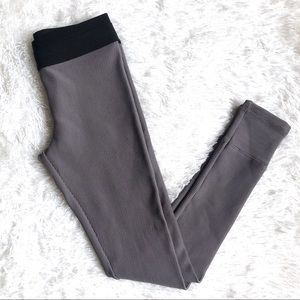 BCBG MaxAzria Mason Ribbed Leggings Size Medium